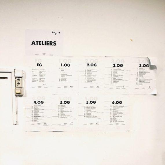 Künstler*innen und Kreative im Atelierfrankfurt